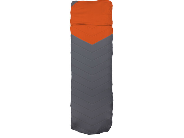 Klymit Quilted V Sheet, red/grey